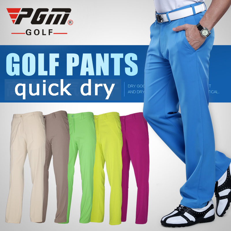 2016 Men Golf Pants Quick Dry Waterproof Sports Colorful ...