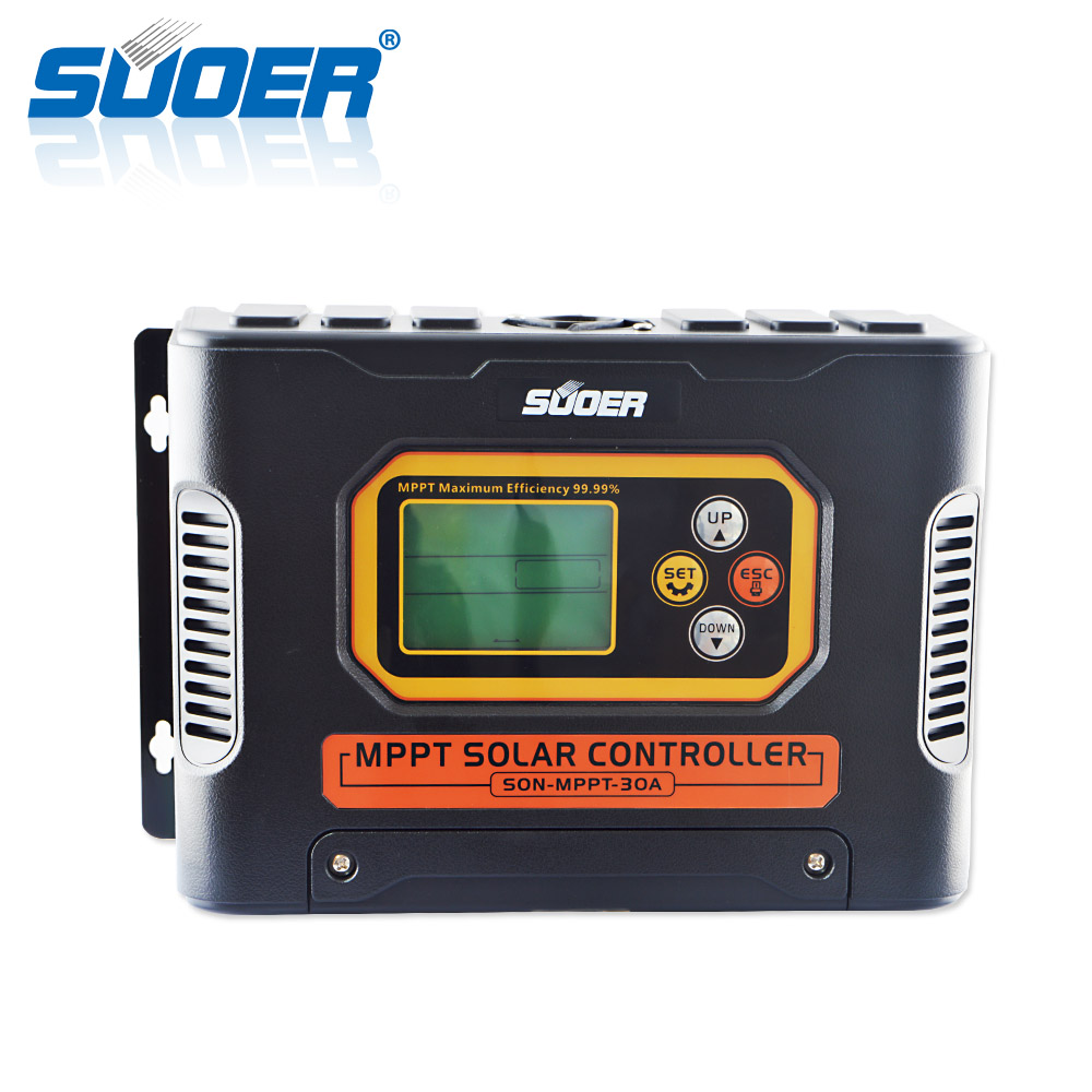 Suoer Alibaba wholesale solar home system 12V 24V 48V 30 amp mppt solar <strong>charge</strong> <strong>controller</strong>