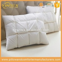 Hot sale best quality polyester home fashions international pillow