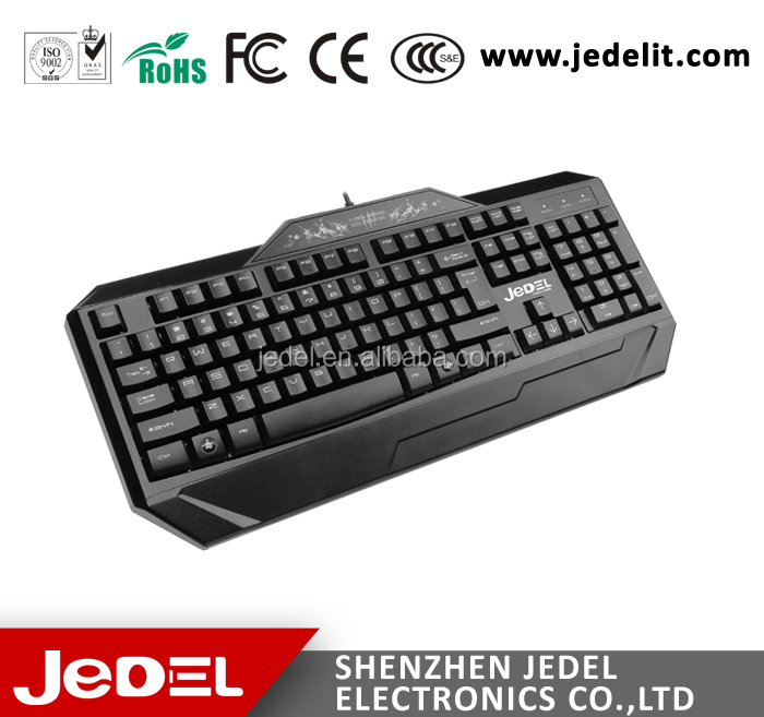 2017 Latest Wired Waterproof Gaming Keyboard K200 from Shenzhen factory