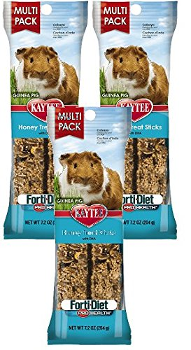 Kaytee Forti-Diet Pro Health Guinea Pig Honey Stick Value 7.2oz