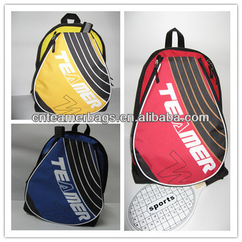 Cute badminton racket backpack