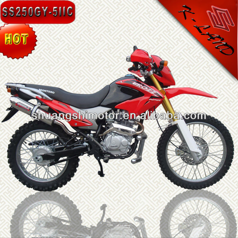 China used dirt bike 250 cc (SS250GY-5IIC)