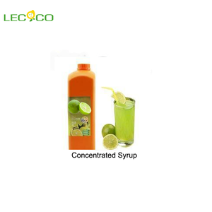 Hot selling concentrated tropical fruit syrup for beverages