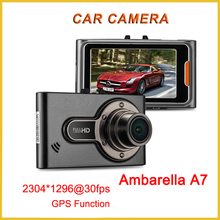 Factory manufacturers High performance Full HD Car camera dvr with GPS car vehicle dash dashboard camera dvr in dubai