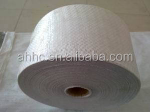 polypropylene woven sack roll/pp woven fabric roll for flour,rice,materials,sugar packing