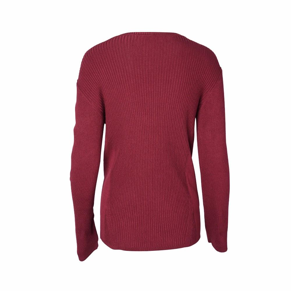 2018 Ribbed German Sweater Pullover Long Sleeves Flower