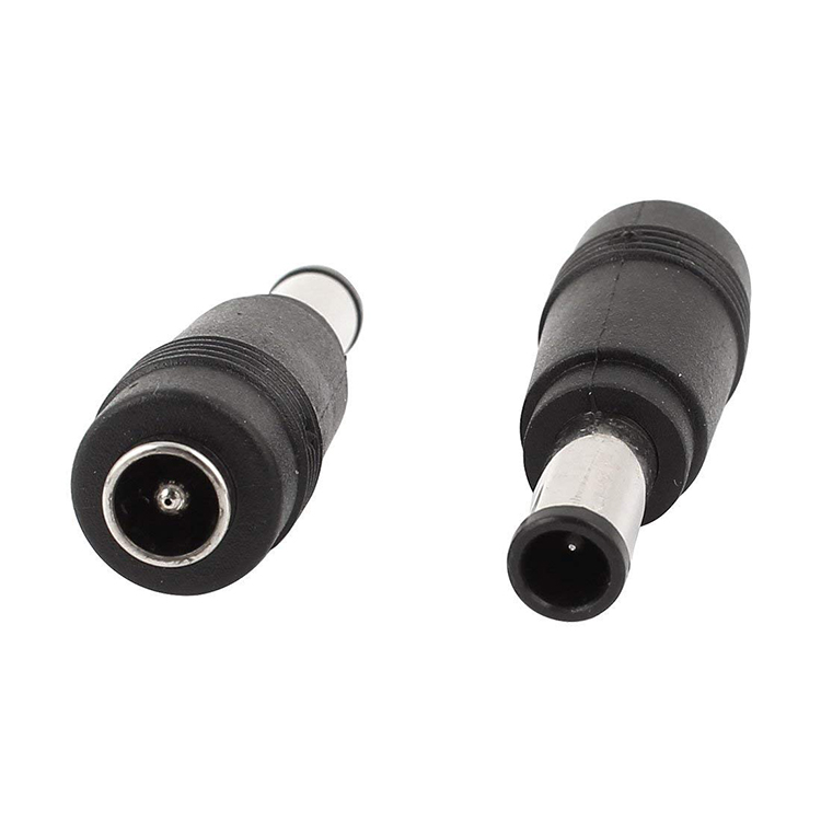 6.0mmx4.0mm Male to 5.5x2.5mm Female DC Power Jack w Pin