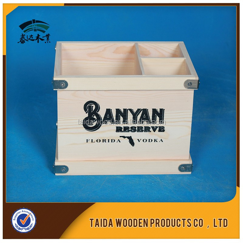 laser engraving logo high quality wooden recipe box