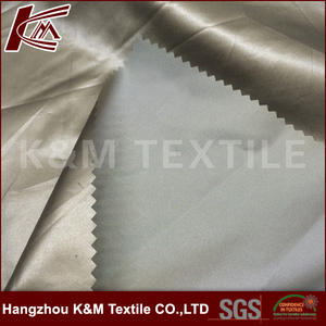 Wholesale 50%nylon 50% polyester pearl Satin fabric For Garment