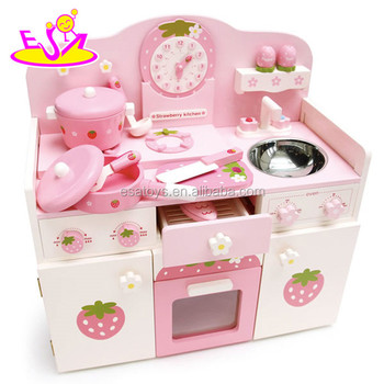 New Design Kids Wooden kitchen furniture toy set,Promotional wooden ...