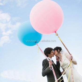 Wedding Giant Globos Helium Balloon Latex
