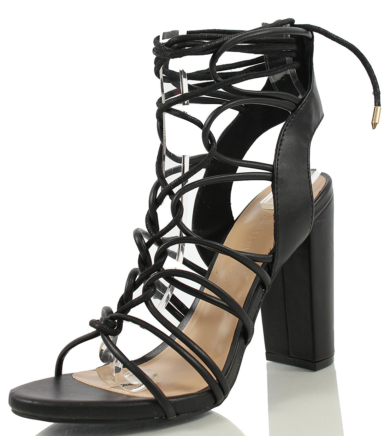 917c3cf824dac Buy Wild Diva Madison-93 Strappy Gladiator Wedges TAUPE 7.5 in Cheap Price  on m.alibaba.com