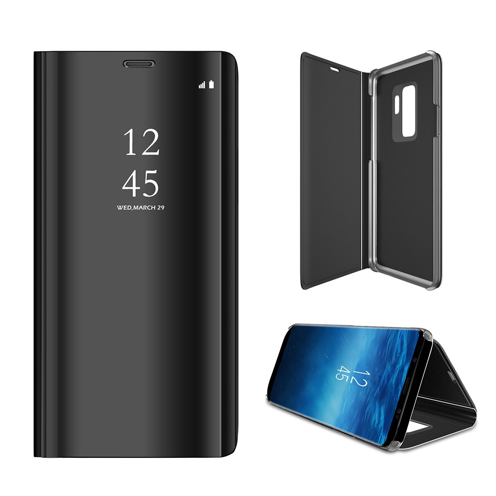 Luxury Smart Mirror Flip Cover  Phone Case For Samsung Galaxy  S9  Phone Case Stand Cover Case