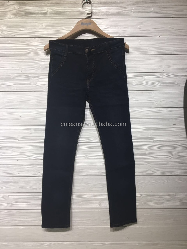 GZY stock men pants jeans classical in high quality cheap price 2017
