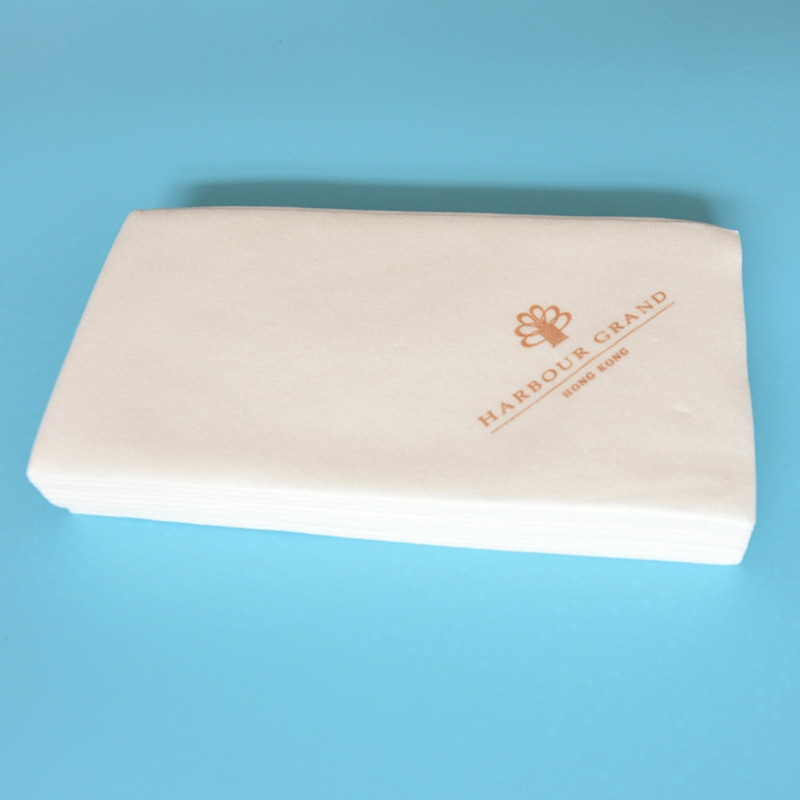 linen feel guest towels custom printed paper napkin tissue