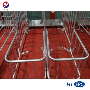 HJ Gestation Crate Hog Stall Used in Intensive Pig Farming