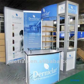 Aluminum Extrusion Trade Show Booth,3x6 Exhibition Booth,Vendor ...