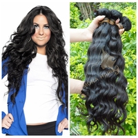 Hot sell mona hair latest style loose wave virgin hair extension