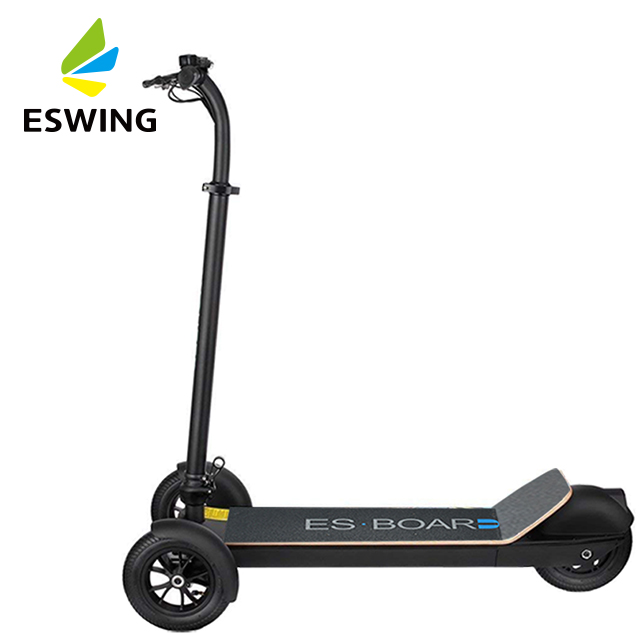 2019 Cheap Li-ion Battery 3 Wheels 450W 48V Scooter Foldable 500w Electric Board for Kids, 5 optional grips or pure black
