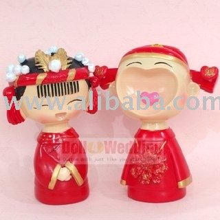 chinese wedding cake topper mu 241 ecas wedding wedding cake topper chino n009 decoraci 243 n 12671