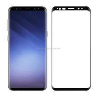 "For Galaxy S9 Screen Protector Glass, 3D Curved Edge Full Screen For Samsung Galaxy S9 Tempered Glass Screen Protector (5.8"")"