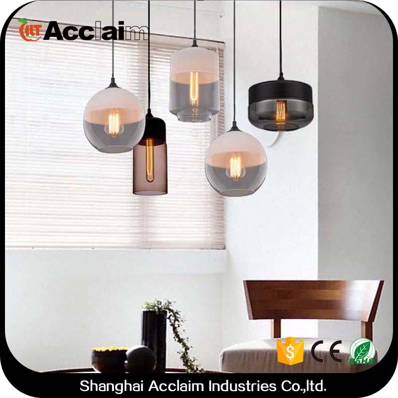 Breve mosaico nero shades lampade a sospensione per la cucina ad isola  antiquariato indiano attaccatura di vetro lampada per bar