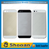 oem cell phone parts leather back cover for iphone 5s,for iphone 5s diamond rear housing mid frame
