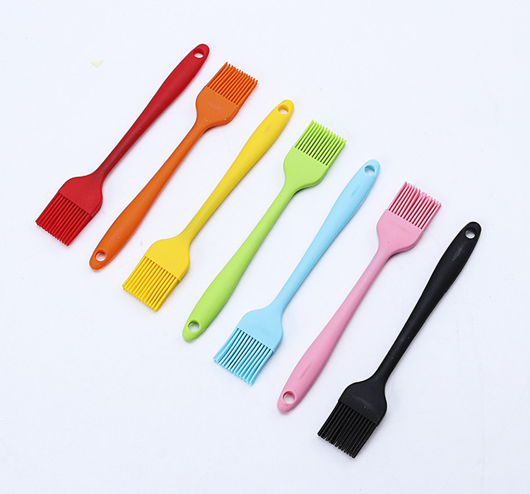Heat Resistant Silicone Basting Pastry Brush For BBQ