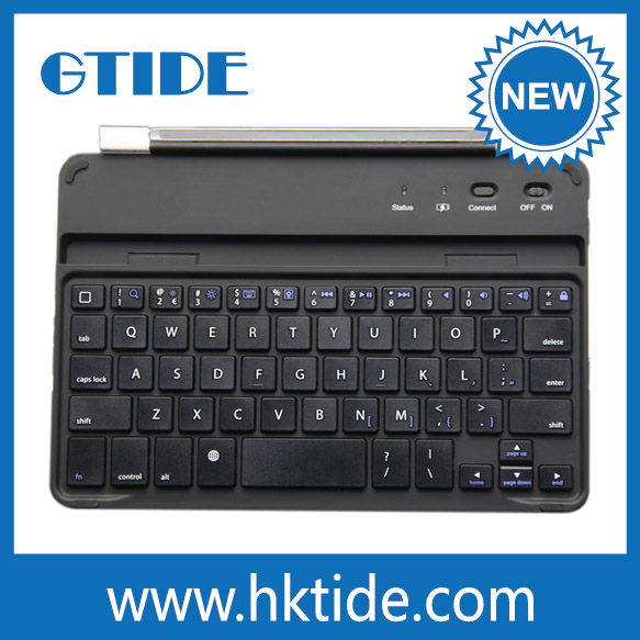 Aluminum Cover Bluetooth Wireless Keyboard With Magnetic Clips For ...