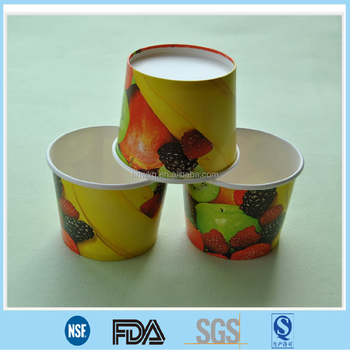 Double Pe Covered Disposable Paper Soup Bowl China Manufacturer ...