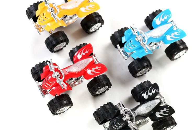 6 PCs multi color children pull back Mini motor bike motor cycle toys Kids baby traffic