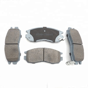 Braking System Certification Bus Brake Pad Disc Ceramic Brake Pad