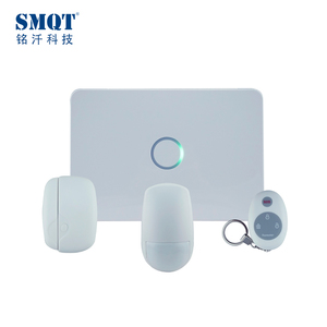 Smart home automation wireless 3G/GSM+WIFI LED App control voice home alarm system kit