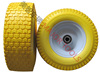beach cart tires pu foam wheel 13 inch 5.00-6 300mm wheel with flat free tire