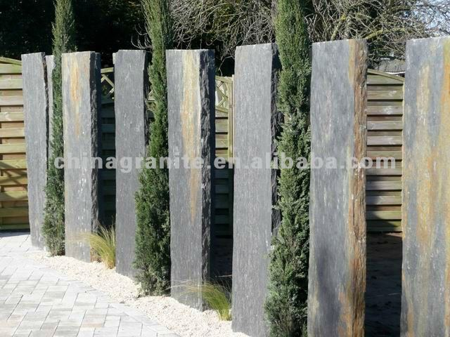 artic green stone monolith for garden
