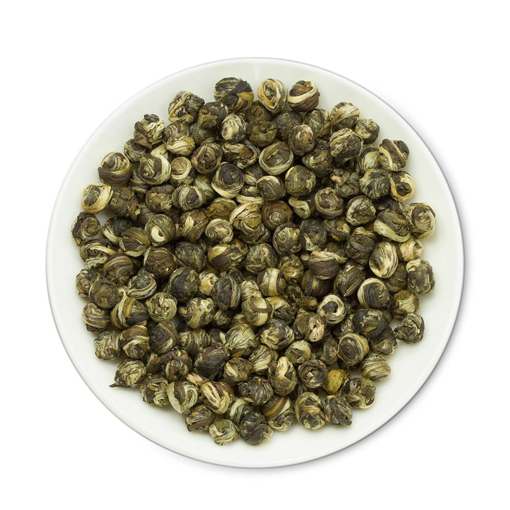 Best Spring First Grade Refined Quality Jasmine Pearl Scented Green Tea Ball Brands - 4uTea   4uTea.com