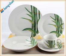 20pcs high quality luxury porcelain dinner set, low price dinnerware set