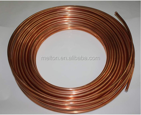 ASTM Pancake Coil Copper Tube / Pipe