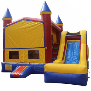 Indoor Commercial Princess Small Bounce House Jumper Air Kids Bouncer Castle Inflatable Trampoline With Slide For Sale