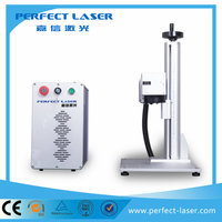 20W/30W Perfect Laser - pens and keyrings wood craft Raycus/IPG fibre laser marking machine for Sale