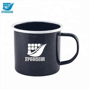 Wholesale Customized Logo Printed Enamel cup