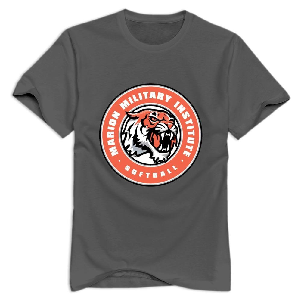 Shirt design website cheap - Get Quotations Cheap Wholesale Marion Military Institute Men S T Shirt Printed Cotton Man T Shirt
