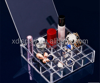 Acrylic Lipstick Holde,Fashionable acrylic cosmetic display stand