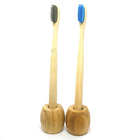 customizable bamboo toothbrush with brand