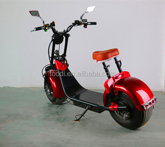 2017 new product harley big wheel electric scoote ,citycoco