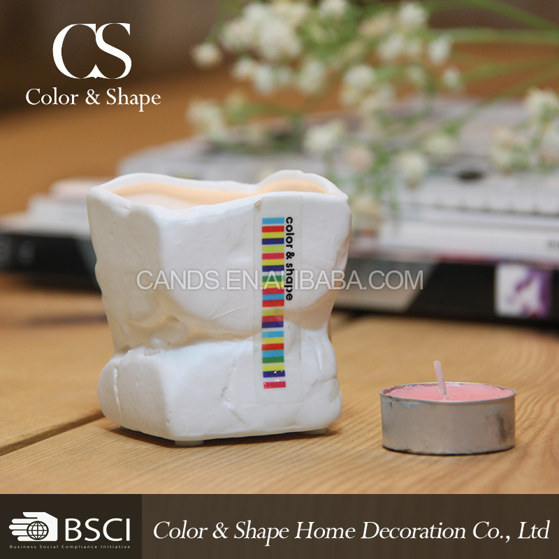 Popular Irregular Shape Decorative Ceramic Candle Holder From ...