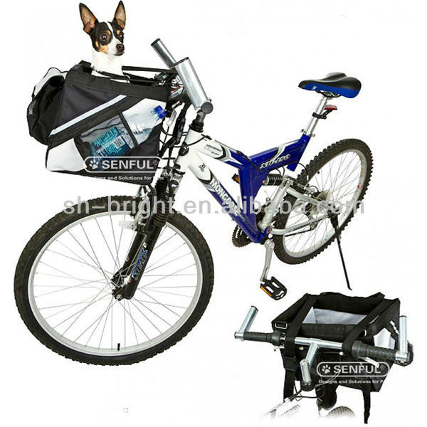 Travel Dog Carrier Front Bicycle Basket