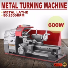 Universal Wood Tool Motorized Metalworking Metal Mini Turning Lathe Machine
