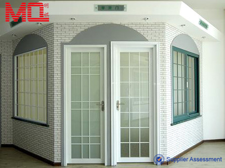 high quality aluminium cheap french glass main doors door and window manufacturer